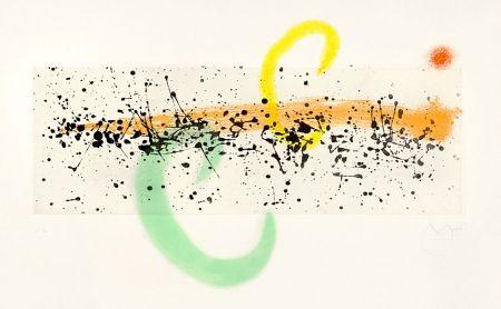 Aquatinte Miró - Lune et Vent (Moon and Wind), 1963