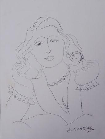 Gravure Matisse - Lydia