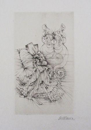 Eau-Forte Et Aquatinte Bellmer - Métamorphose (Papillon)