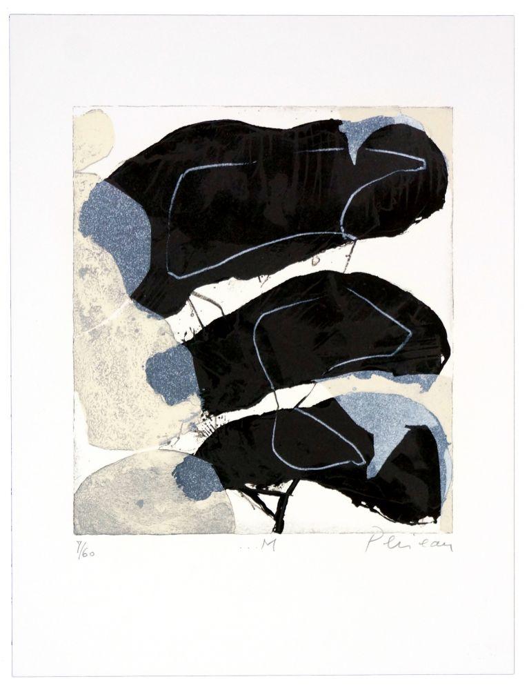 Lithographie Péneau - M