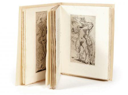Livre Illustré Masson - M. Jouhandeau : XIMENÈS MALINJOUDE. Illustré d'eaux-fortes par André Masson (1927).