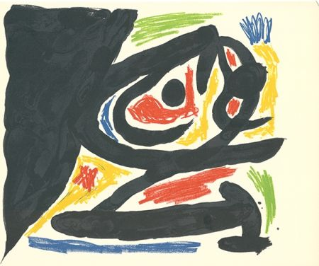 Lithographie Miró - Maîtres-Graveurs Contemporains