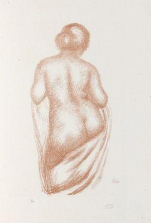Lithographie Maillol - Maîtres et petits maîtres d'aujourd'hui.  Aristide Maillol, Sculpteur et Lithographe.