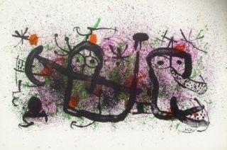 Lithographie Miró - Ma de Proverbis 2