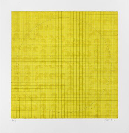 Gravure Binion - MAB Etching 2 yellow
