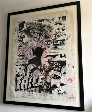 Lithographie Faile - MacBeth