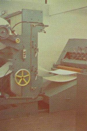 Lithographie Jacquet - Machine à imprimer