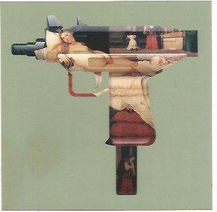 Sérigraphie Gjoen - Machine Gun Venus