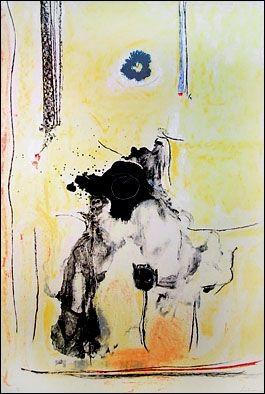 Lithographie Frankenthaler - Madame De Pompadour (1985-90)