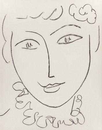 Lithographie Matisse - Madame Pompadour