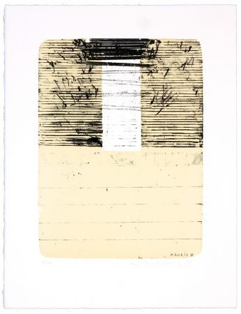 Lithographie Denning - Madrid V