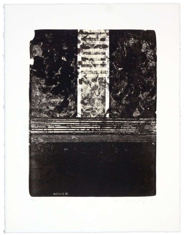 Lithographie Denning - Madrid VI