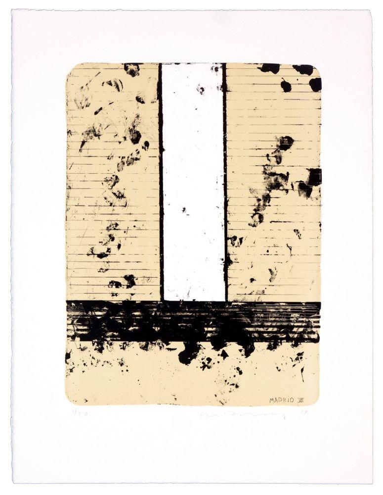 Lithographie Denning - Madrid VII