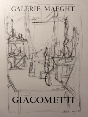 Affiche Giacometti - Maeght