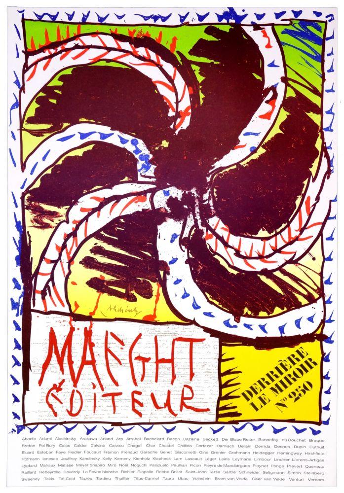 Affiche Alechinsky - Maeght Editeur, 1982