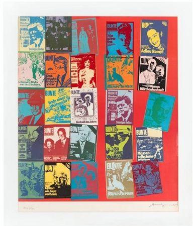 Sérigraphie Warhol - Magazine and History, FS II.304 A