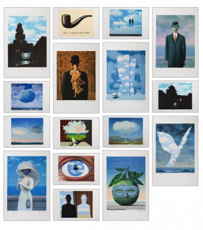 Lithographie Magritte - Magritte Lithographies Vi
