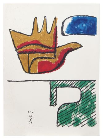 Lithographie Le Corbusier - Main ouverte (hand-signed & numbered)