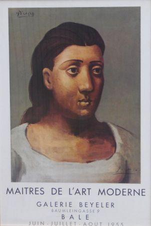 Lithographie Picasso - Maitrs De L'art Moderne Galerie Beyeler
