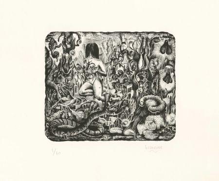 Lithographie Blanquet - Majesté Furtive