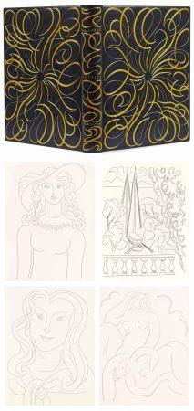 Livre Illustré Matisse - MALLARMÉ. POÉSIES. Eaux-fortes originales de Henri Matisse (1932). Reliure de Paul Bonet.