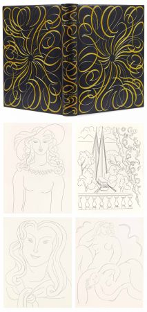 Livre Illustré Matisse - MALLARMÉ. POÉSIES. Eaux-fortes originales de Henri Matisse. Reliure de Paul Bonet.