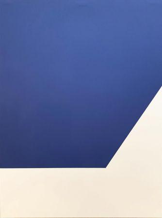 Lithographie Kelly - Mallarmé Suite: Blue