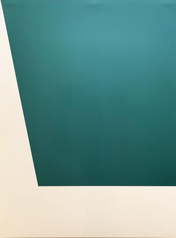 Lithographie Kelly - Mallarmé Suite: Green