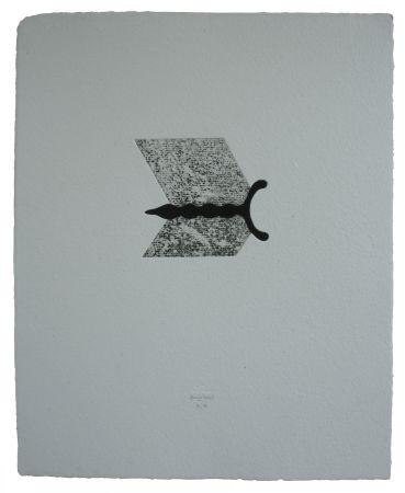 Eau-Forte Et Aquatinte Baroja-Collet - Mallarmeren Betazalak Viii