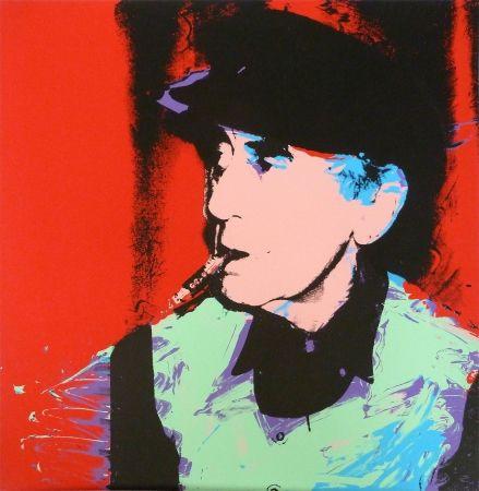 Sérigraphie Warhol - Man Ray
