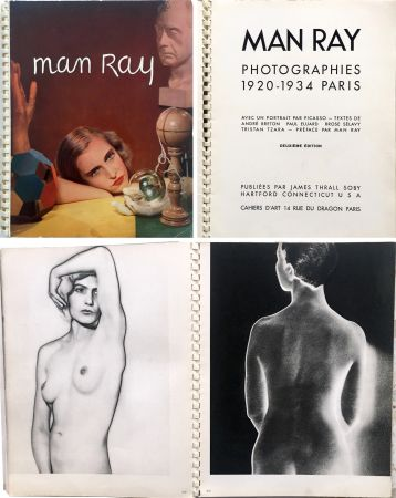 Livre Illustré Ray - MAN RAY PHOTOGRAPHIES 1920-1934.