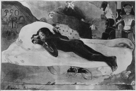 Lithographie Gauguin - Manao Tupapau