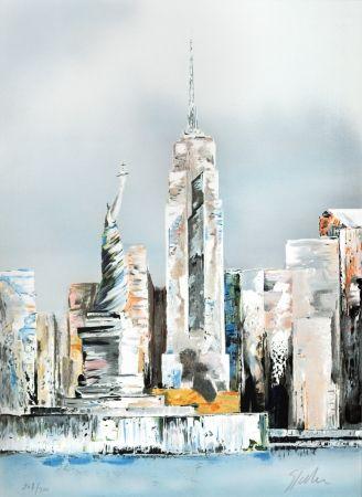 Lithographie Spahn - Manhattan