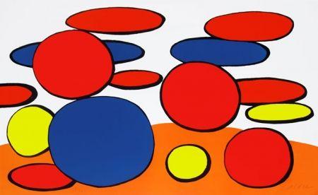 Lithographie Calder - Manhole Cover