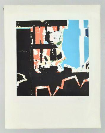 Lithographie Rotella - Manifesto