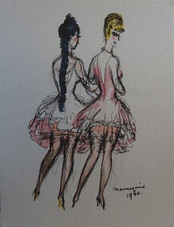 Lithographie Van Dongen - Mannequins 1960