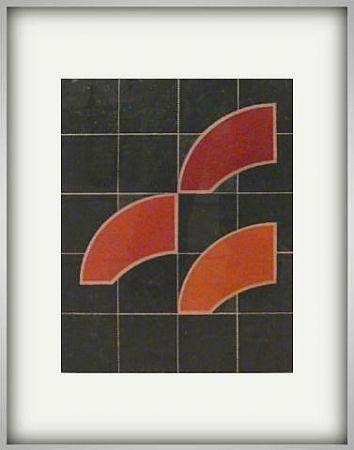 Gravure House - Manuscript Red