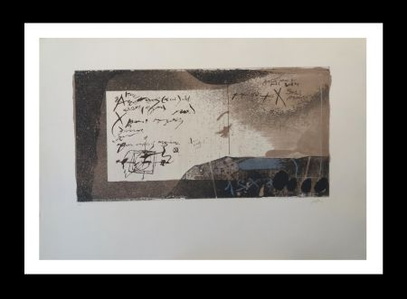 Eau-Forte Et Aquatinte Tàpies - Manuscrito