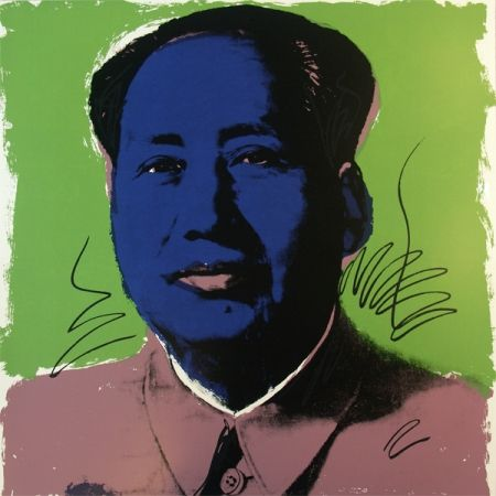 Sérigraphie Warhol (After) - Mao