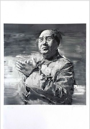 Lithographie Pei-Ming - MAO