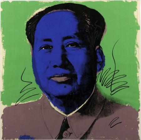 Sérigraphie Warhol - Mao (FS II.90)