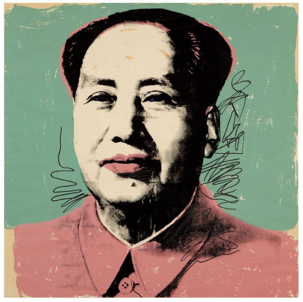 Sérigraphie Warhol - Mao (FS II.95)