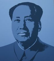 Sérigraphie Warhol (After) - Mao grey