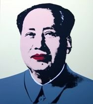 Sérigraphie Warhol (After) - Mao yellow