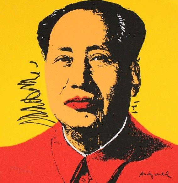 Sérigraphie Warhol - Mao Zedong