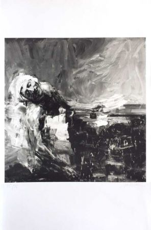 Lithographie Pei-Ming - Marat
