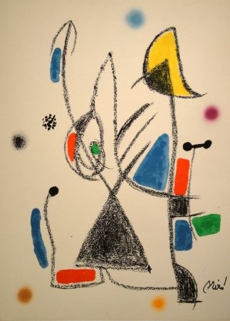 Lithographie Miró - Maravillas...