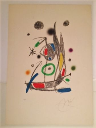 Lithographie Miró - Maravillas con Varaciones Acrosticas