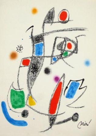 Lithographie Miró - Maravillas con variaciones acrósticas en el jardín de Miró - 10