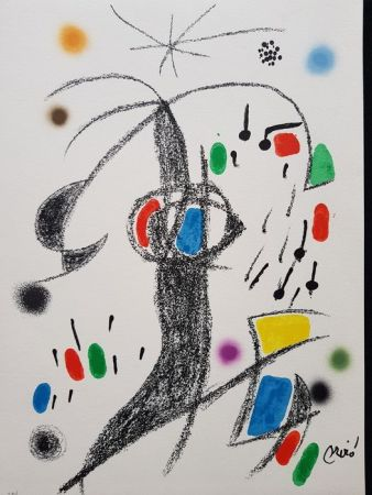 Lithographie Miró - Maravillas con variaciones acrósticas en el jardín de Miró - 19